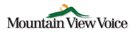 Mountain View Voice logo